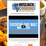 wisejackcooking.com Coming Soon Page