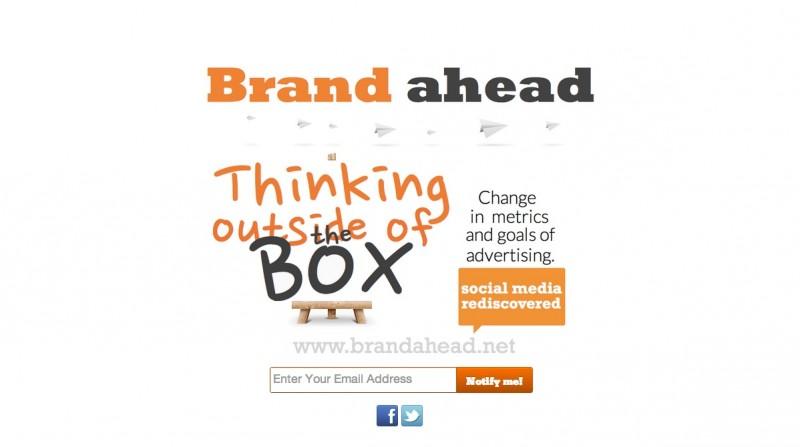 brandahead.net Coming Soon Page