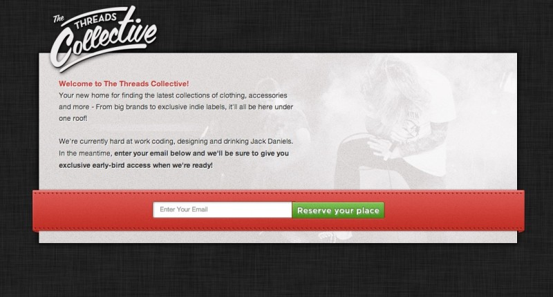 thethreadscollective.com Coming Soon Page