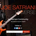 joesatrianiuniverse.com Coming Soon Page