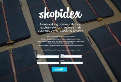 ShopIndex Coming Soon Page with Gravity Forms