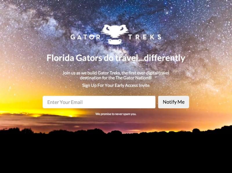 Gator Treks Coming Soon Page