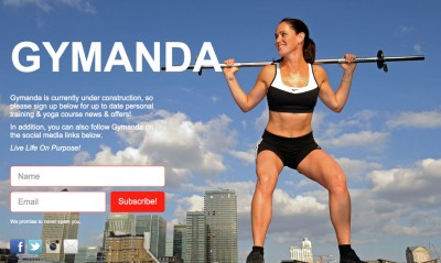 Gymanda Coming Soon Page