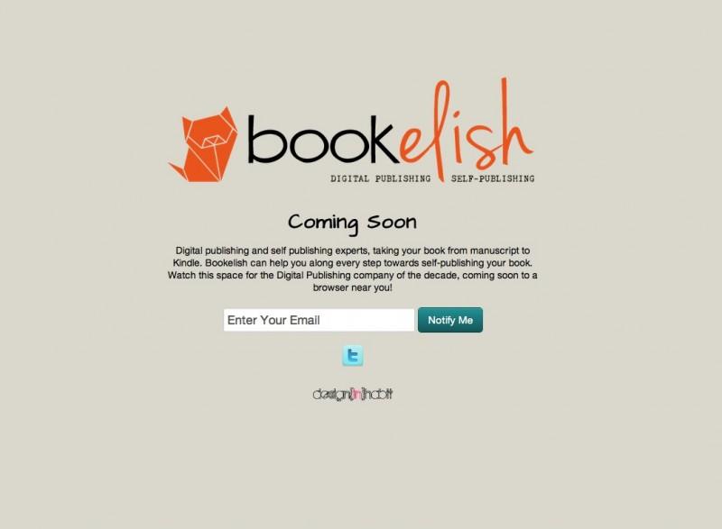bookelish.com Coming Soon Page
