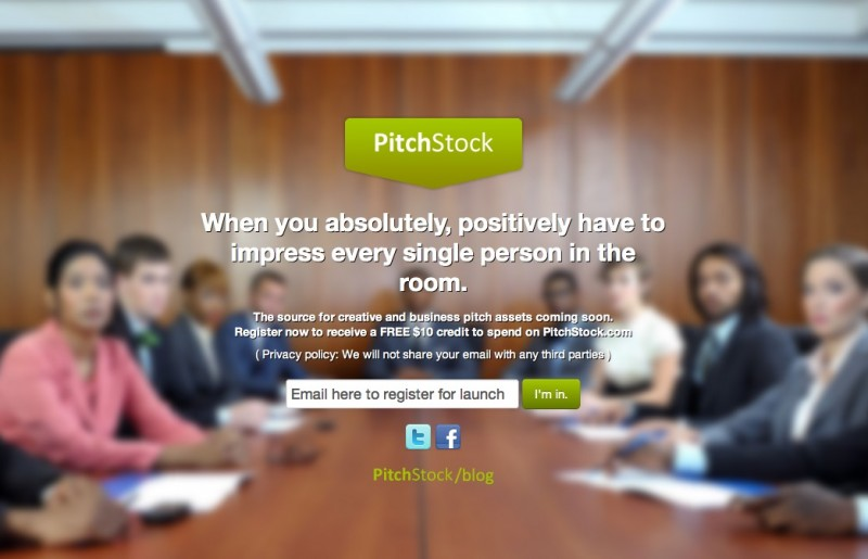 pitchstock.com Coming Soon Page