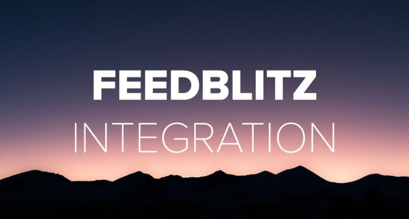 feedblitz-integration