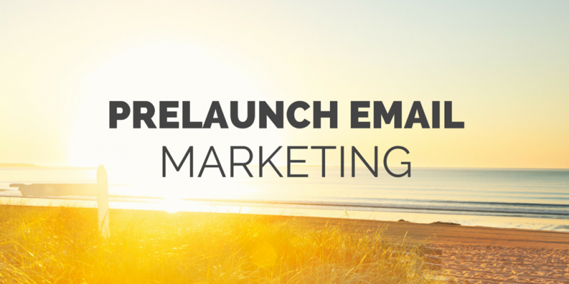 prelaunch-email-marketing