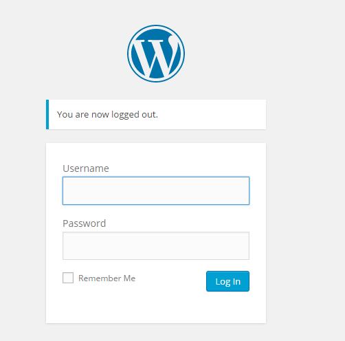 log-in-screen
