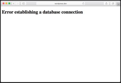 wordpress-database-connection-error-page