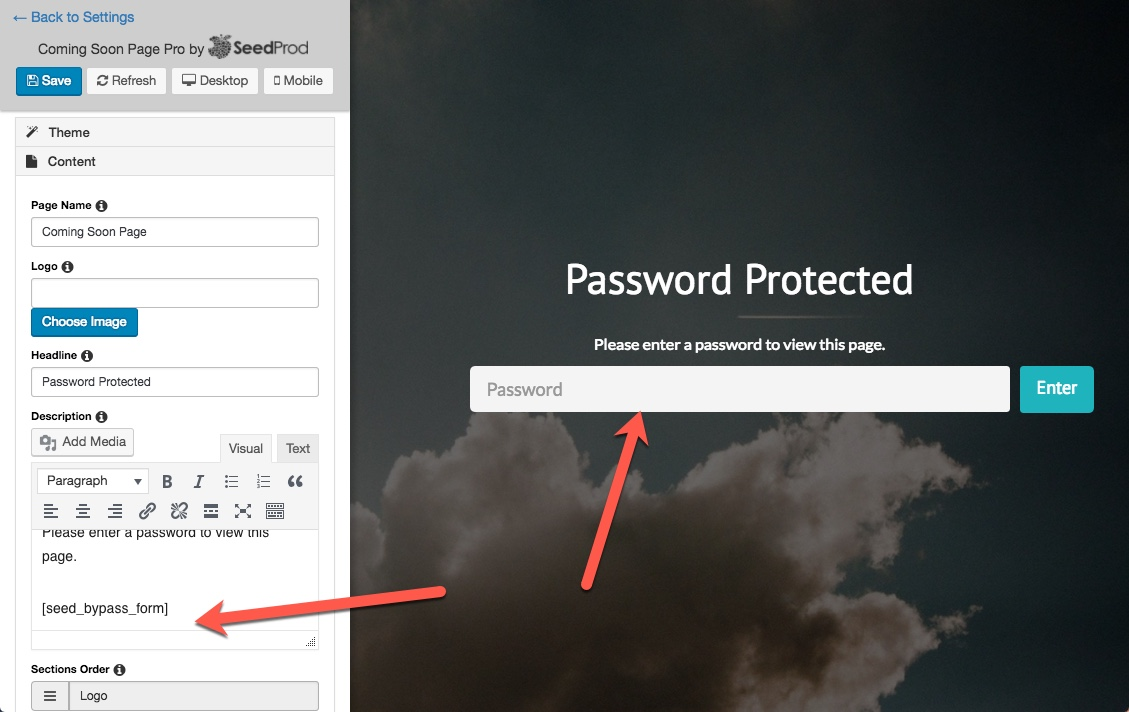 How to Password Protect Pages in WordPress - SeedProd