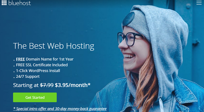 bluehost best WordPress hosting solution