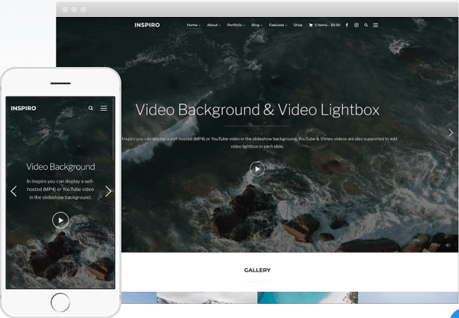inspiro theme, wordpress premium themes