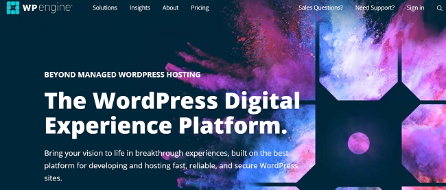 WP Engine VIP WordPress hosting service