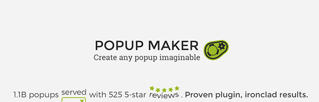 popup maker WordPress popup plugin free
