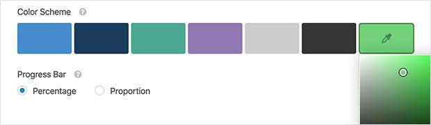 Choose your own form color scheme