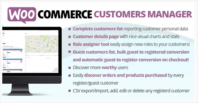 best WooCommerce customers manager  woocommerce addons