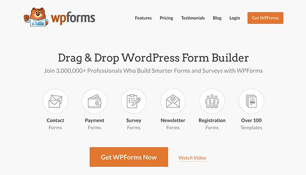 WPForms is the best Typeform WordPress alternative