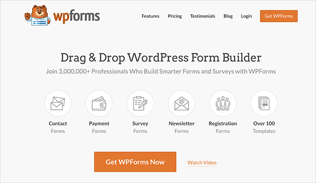 WPForms Best Contact Form for WordPress