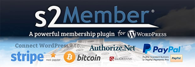 s2Member free Membership plugin for WordPress