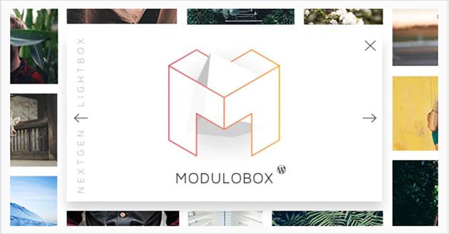 Modulo box wordpress lightbox