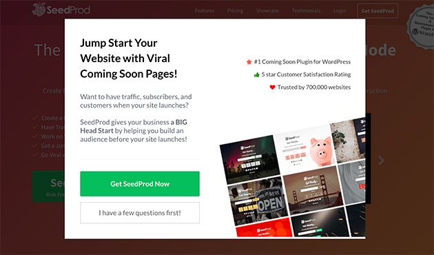 Newsletter WordPress lightbox