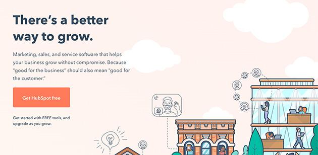 HubSpot lead generation platform