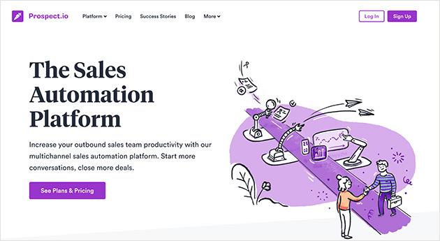 Prospect.io sales automation platform