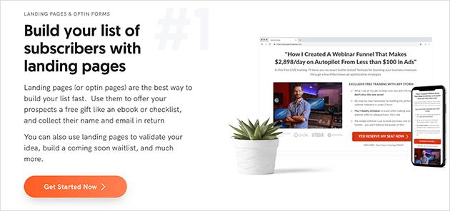 OptimizePress WordPress easy landing page plugin