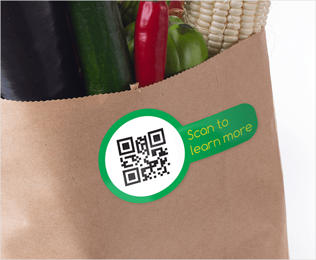 Use QR codes on printed material to grow your email list