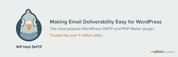 WP Mail SMTP besgt smtp pluin for WordPress