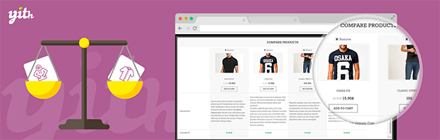 WooCommerce compare plugin by YITH