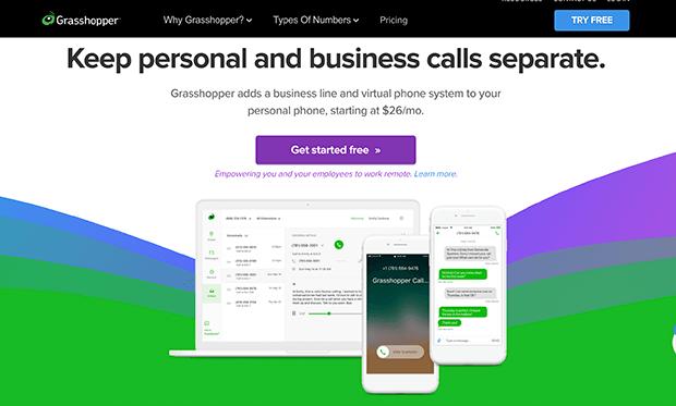 GrassHopper best VoIP service provider
