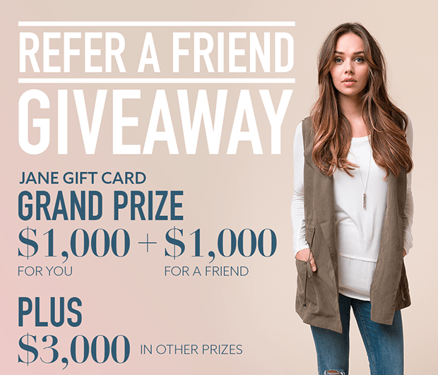 refer a friend facebook giveaway idea