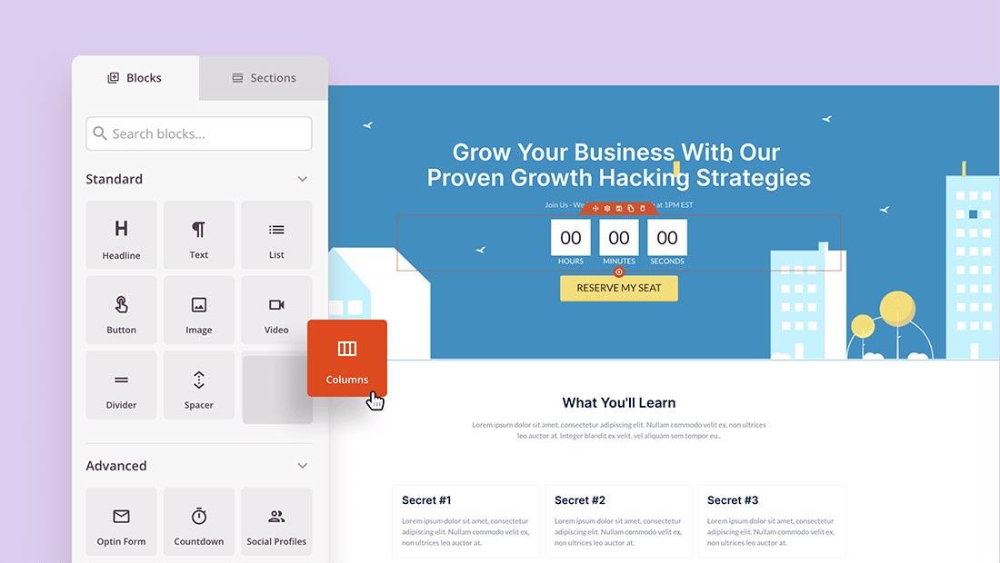 WordPress Landing Page Builder