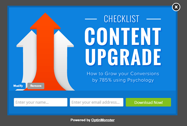 Content upgrades can help you grow your email list