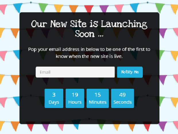Add a countdown timer to your landing page to increase a sense of urgency