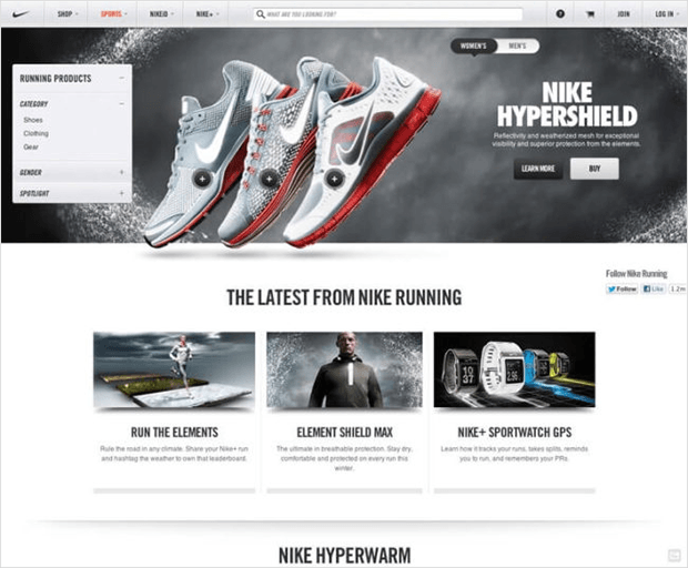 use clear typography to create a landing page that converts