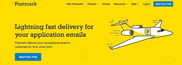 Postmark SMTP service for WordPress websites