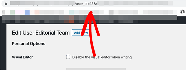 You can click edit on any user to view the WordPress user id in the address bar.