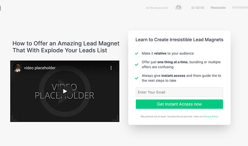 SeedProd video landing page templates for WordPress