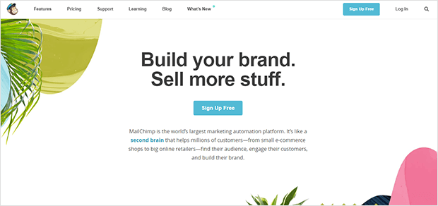 Use white space in your landing page to focus attention and increase conversions