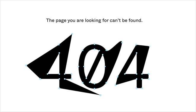 figma best interactive 404 page example
