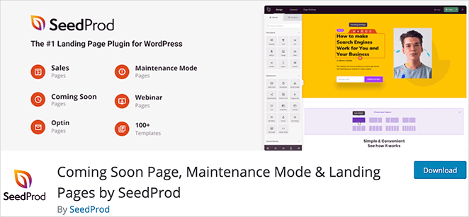 Instead of downloading seedprod nulled, you can get the free version of SeedProd