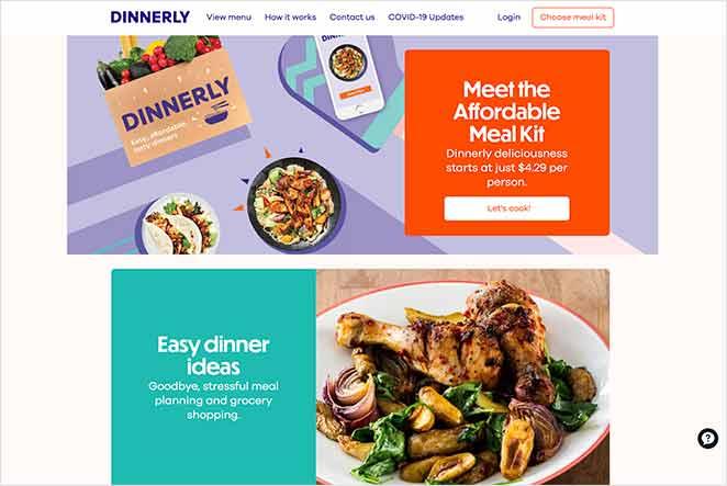 Dinnerly reddit sales page