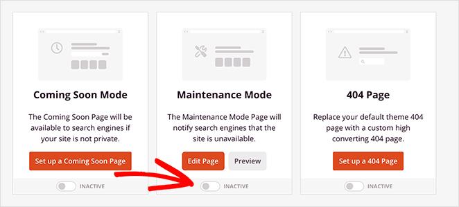 how to turn off wordpress maintenance mode