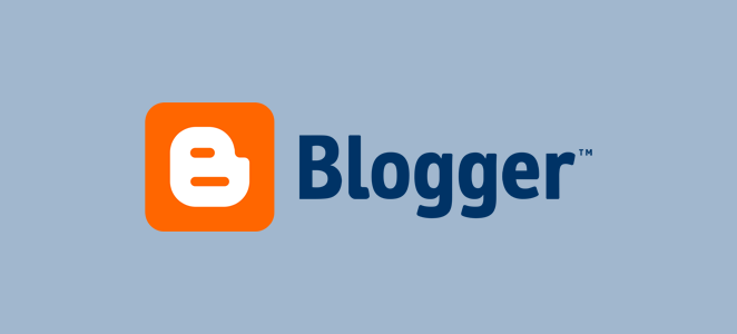 Blogger blogging platform from Google