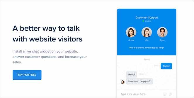 Chaport live chat support solution
