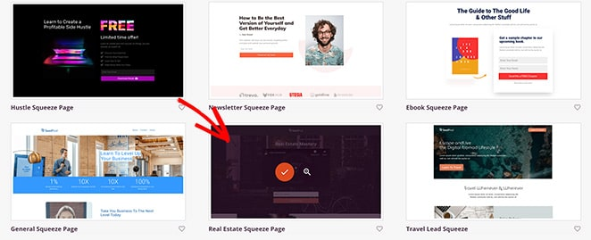 Launch your video landing page template