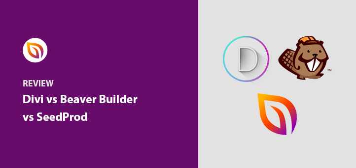 Divi vs Beaver Builder vs SeedProd: Top Page Builders Compared