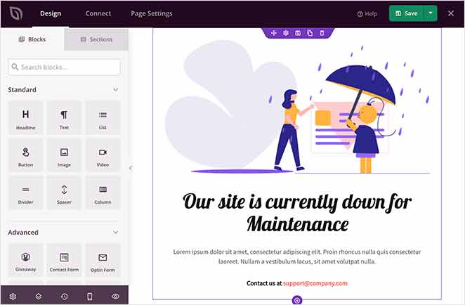 drag and drop WordPress page builder